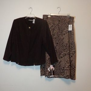 NWT jacket&skirt 20WomansPetite Buy3items this $19